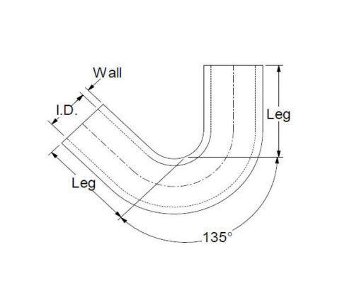 hitzebest ndiger 135 grad silikonbogen turbo k hlerschlauch. Black Bedroom Furniture Sets. Home Design Ideas