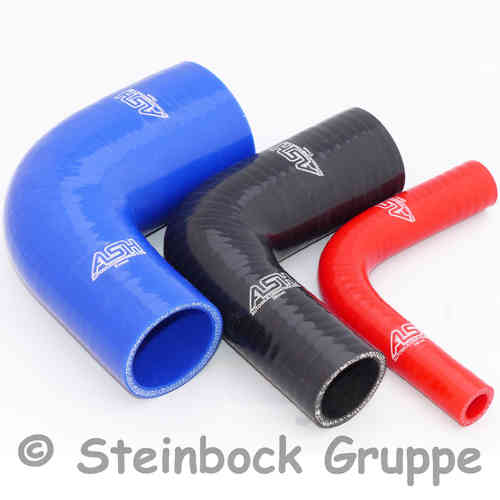 Reinforced Silicone 90 Degree Reducer Elbow Coolant and Turbo Hose